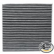 6 Pack ACF-10134 Cabin Air Filter