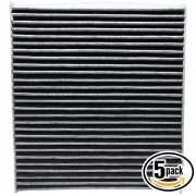 5 Pack ACF-10729 Cabin Air Filter
