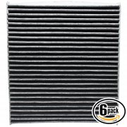 6 Pack ACF-10729 Cabin Air Filter