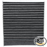 8 Pack ACF-10729 Cabin Air Filter