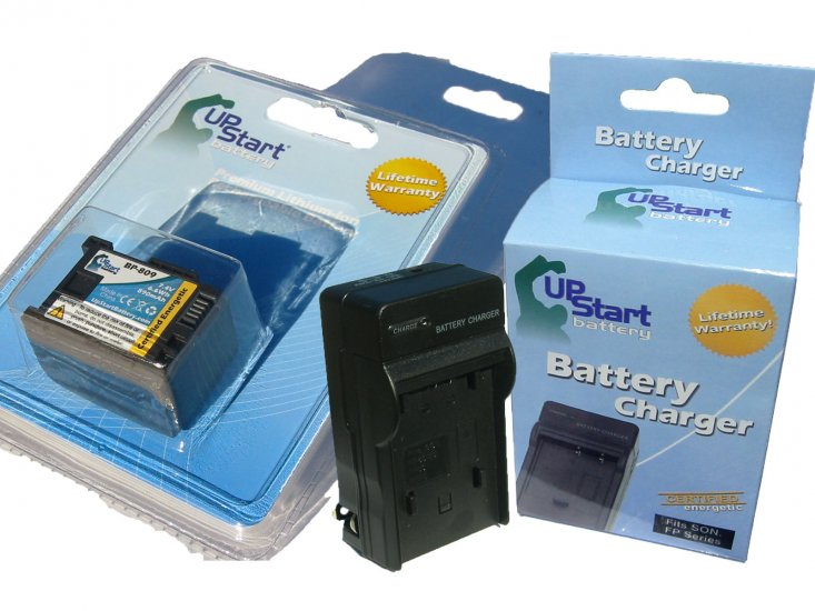 Canon BP-809 Decoded Battery and Charger Kit - Click Image to Close