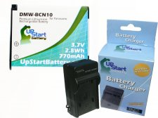 Panasonic DMW-BCN10 Battery and Charger Kit