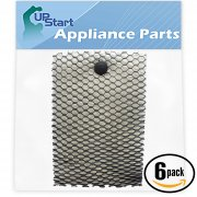 6-Pack Holmes HWF100 Air Filter Replacement for Holmes, Sunbeam, Bionaire Humidifiers
