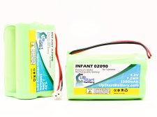 2-Pack Summer Infant 02090 Battery