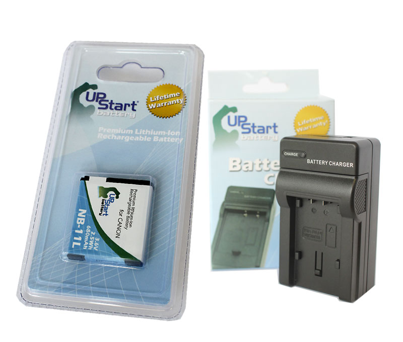 UpStart Battery Canon A2600 Battery and Charger - Replacement for Canon NB-11L Digital Camera Batteries and Chargers (680mAh, 3.6V, Lithium-Ion) at Sears.com