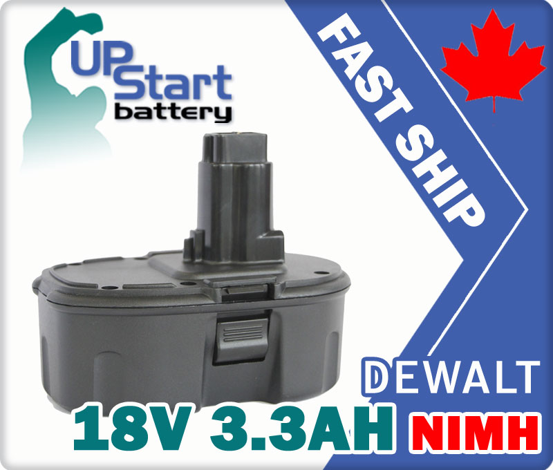 Battery For Dewalt DE9096 DE9095 DC9096 18 Volt 18V